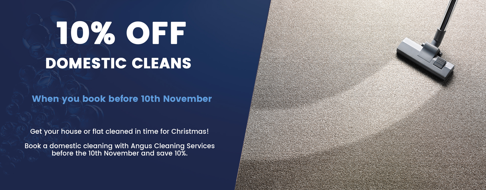 domestic cleaning deal in arbroath
